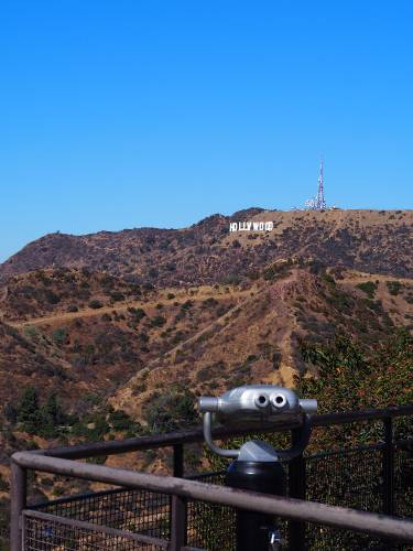 Griffin Observatory in LA