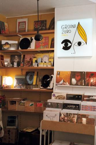 Ground Zero record shop in Paris