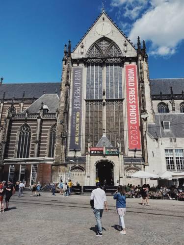 De Nieuwe Kerk in Amsterdam