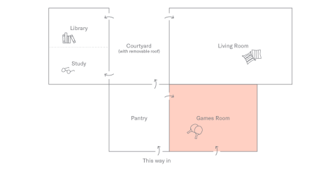 Games Room Plan