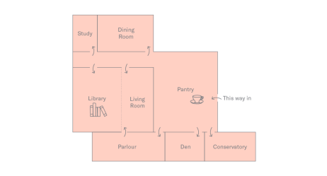 Floor Plan of Holborn Meetings Space - Exclusive Hire