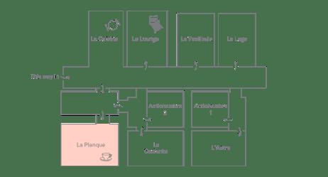 La Planque Plan