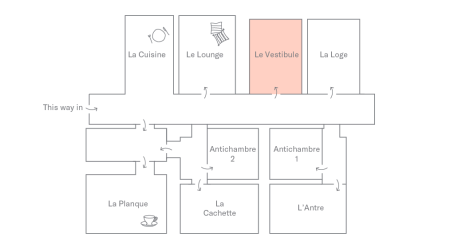 Le Vestibule Plan