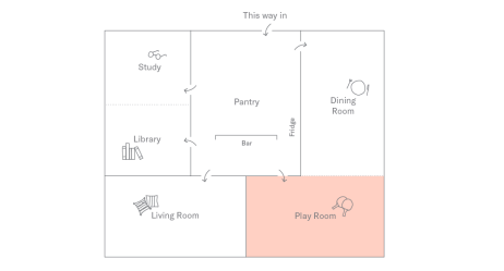 Play Room Plan
